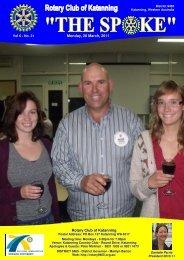 Vol 6-31-May 9 - Katanning Rotary Club