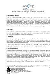 normas - IAG - A Escola de Negócios da PUC-Rio