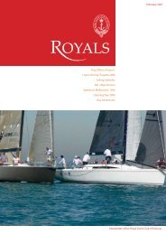 Read more - Royal Yacht Club of Victoria