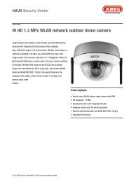 IR HD 1.3 MPx WLAN network outdoor dome camera