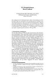 EU-Kommissionens Rom II-udkast - Juridisk Institut - Aarhus ...