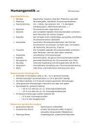 Humangenetik ZSF 2 - anthropia