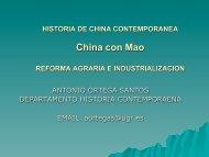 mao ii reforma agraria e - Historia Contemporánea