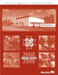 2008-2009 Annual Report - Office of the Fire Commissioner
