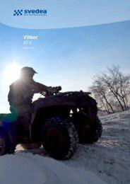 fullständiga villkor ATV-FÖRSÄKRING - Motor - Svedea