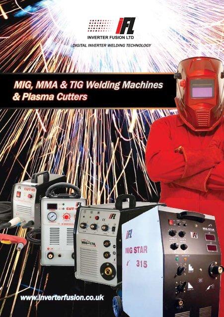 MIG, MMA & TIG Welding Machines & Plasma Cutters