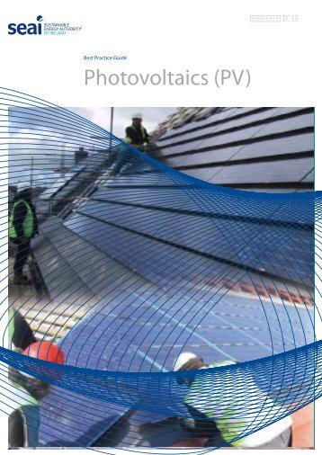 Best Practice Guide Photovoltaics (PV) - the Sustainable Energy ...