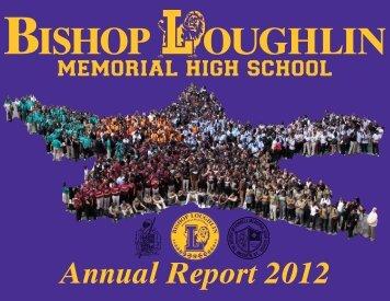 Annual Report 2012 - Bishop Loughlin Memorial High School