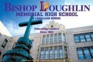 2011-2012 Admissions Brochure Download Link - Bishop Loughlin ...