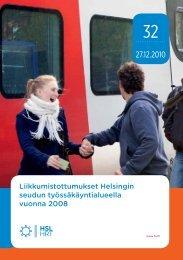 Liikkumistottumukset Helsingin seudun työssäkäyntialueella ... - HSL