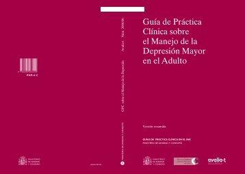 GPC sobre Depresión en Adultos - GuíaSalud
