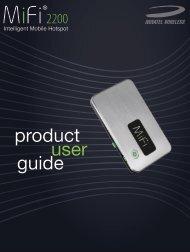 user product guide - Cellcom