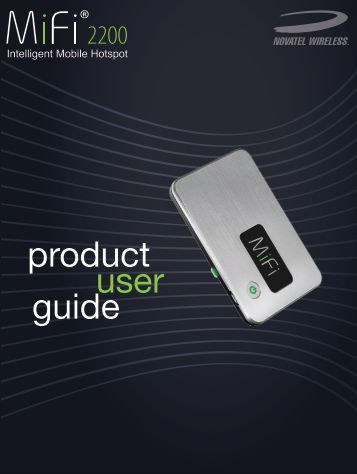 user product guide - Cellcom