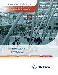 CCTV-Solutions - AUTEC Gesellschaft für Automationstechnik mbH