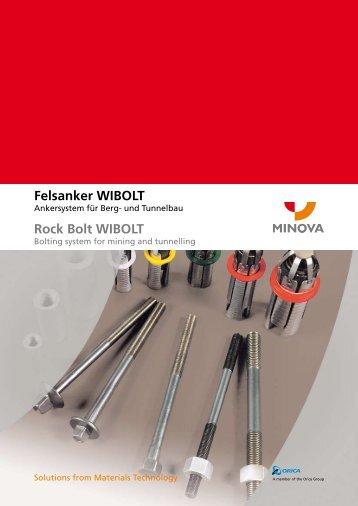 Felsanker WIBOLT Rock Bolt WIBOLT - Minova CarboTech GmbH
