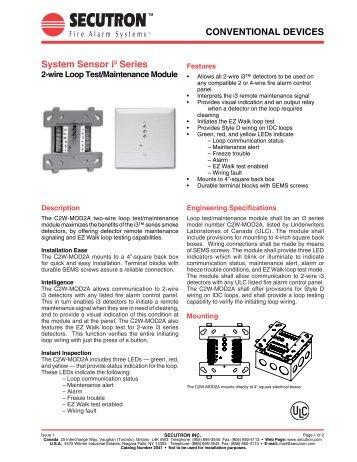 Conventional Devices Fireray 5000 Secutron