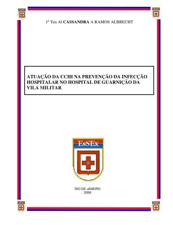 atuação da ccih na prevenção da infecção hospitalar no hospital de ...
