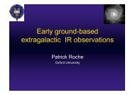 Early ground-based extragalactic IR observations - IRS, The Infrared ...