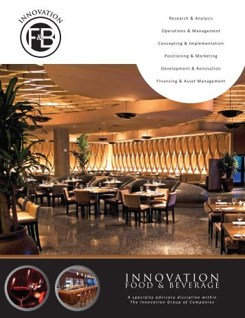 Final Brochure for Print.indd - The Innovation Group