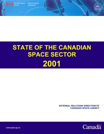State of the Canadian Space Sector