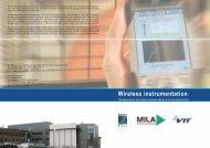 Wireless instrumentation