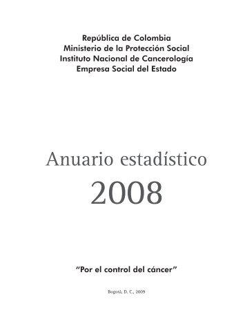 contenido Anuario Estadístico del INC - Instituto Nacional de ...