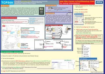 Click here for TCP54A user manual (ver 20100511)