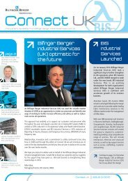 Connect UK - Issue Q1 2010 - Bilfinger Industrial Services - Home