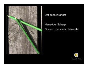 Avslutning - Karlstads universitet