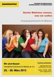 Flyer DIN A6 Mwoche_2013 - Jugendnetzwerk Konz