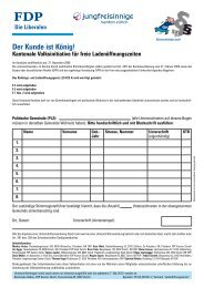 Der Kunde ist König! - Kanton Zürich