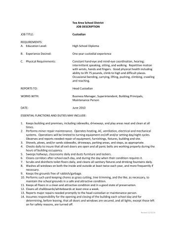 Carmel Clay School Corporation Job Description  Carmel Clay Schools