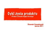 Product Lifecykle Supply Strategy