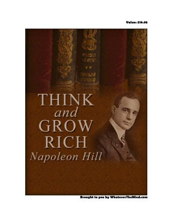 think and grow rich 1937 pdf free