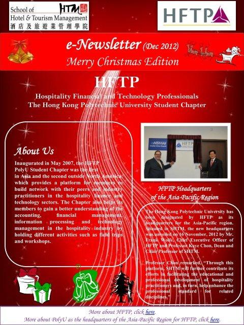 HFTP - School of Hotel & Tourism Management - The Hong Kong ...