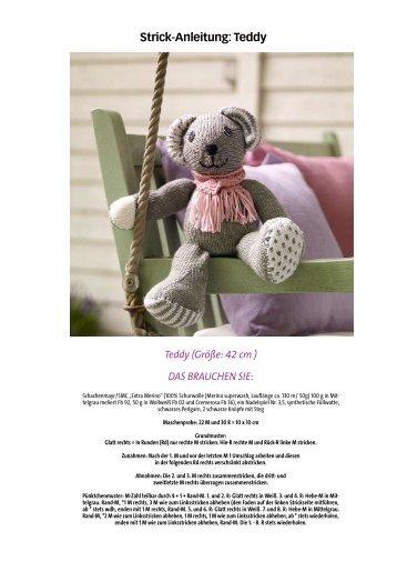 Strick-Anleitung: Teddy - Wunderweib