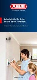Sicherheit für Ihr Heim: einfach selbst installiert - Abus