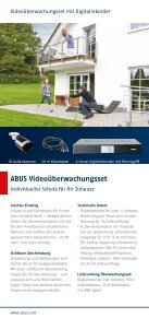 Sicherheit für Ihr Heim: einfach selbst installiert - Abus - Seite 6