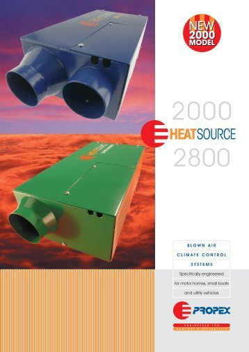Heatsource A3 brochure 2-06 - Propex Heat