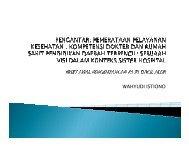 WAHYUDI ISTIONO - Kebijakan Kesehatan Indonesia