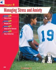 Chapter 8: Managing Stress and Anxiety