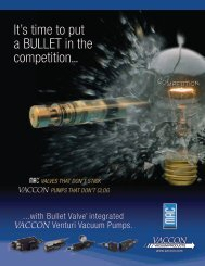 It's time to put a BULLET in the competition... - Vaccon Vacuum ...