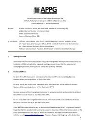 1 Unconfirmed minutes of the inaugural meeting of ... - Antibiotic Action