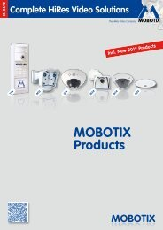MOBOTIX Products