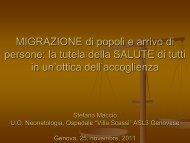 Stefano Macciò - ASL n.3 Genovese