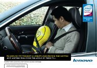 Technology To PReVenT accidenTs eVen befoRe ... - Shop - Lenovo