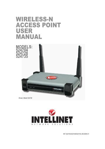 Long Range Wireless N Client Bridge/Access Point User