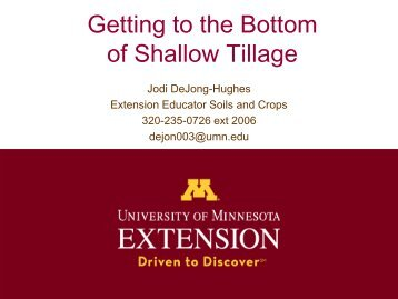 Vertical Tillage: Benefits and Considerations