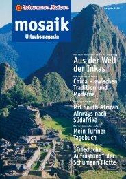 Aus der Welt der Inkas - bei Schumann Reisen
