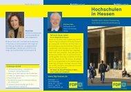 Hochschulen in Hessen - Junge Liberale Hessen